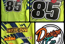 DesignEvo / Diseños para Pilotos #Motocross