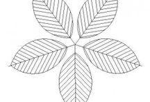 Plants and foliage CAD block