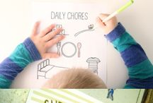 KIDS :: Routine/Chore Charts / by Stacey Bellotti