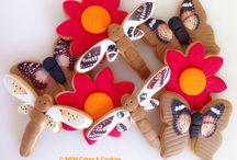 Galletas primavera / www.memcakesandcookies.com