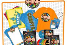 Shine VBS (Go Fish Resources) / Shine is the all new VBS for 2014 from Go Fish Resources!  If you're tired of doing the same old thing each summer, then you'll love this fresh, innovative approach to Vacation Bible School. All the fun without the fluff!