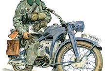 motocykle i motocykliści