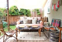 Outdoor living / by Tiffany Bernard