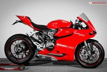 Ducati Panigale 1199S / Supersport motoren