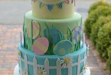 bunny cakes birthday