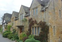 On the road. England, The Cotswolds