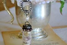 Bottles, jars, lace & bling!