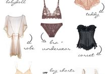 lingerie and swimwear