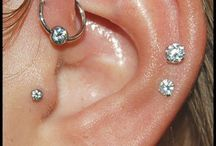 Ear piercings  / by Shae Browning