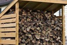 Сарай для дров