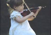 violin little girl