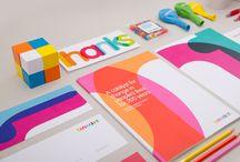 Företagsidentitet - multifärger