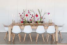 Bright and Festive / Bright and Festive floral decor