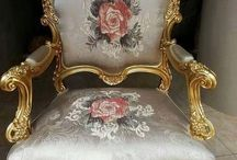 Classic bergere chair
