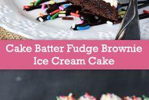 Ice cream birthday cake ideas