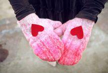 Сердечки разными техниками - Valentine's day and hearts / Один из международных праздников – День святого Валентина. Этот праздник имеет свою историю о двух влюблённых, поэтому он называется День всех влюблённых