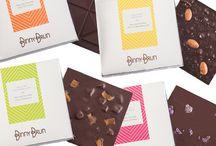 Barras de Chocolate Binny Brun