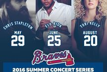 2016 Turner Field Concerts