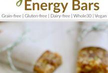 Key lime energy bars (like larabars)