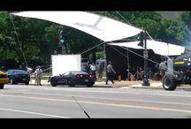 Superhero Movie Set Filming / by SimplySuperheroes.com