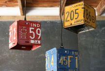 Kenncycling / Tolle Recygling-Ideen rund um Kennzeichen und Kfz