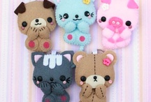 Plushies, Brooches, Ornaments