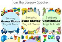 Sensory Processing and Integration Information / A great resource for parents looking to make sense of sensory integration and feel successful helping their child.
