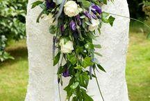 long wedding bouquets