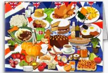 Food on Friday:  Best of British / To add to this collection just either hop on over to http://caroleschatter.blogspot.co.nz/2014/06/food-on-friday-best-of-british.html or click through the first pin. Cheers