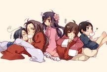 Hetalia Asian Family ✌