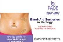 """Band aid surgery / """"Band - Aid surgery"""" refers to laparoscopic surgery or key hole surgery. That is because the cuts made in laparoscopy to place the instruments are small enough to be covered by a band-aid."""