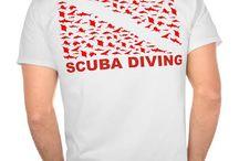 TEE shirt Diving