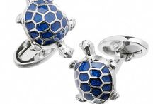 Slow and Steady: Turtle Cufflinks and Accessories