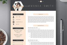 Resume and portfolios