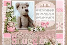 Scrapbooking single photo pages / Layouts with a single photo