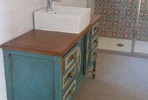 redecorar mueble para lavabo