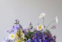 Purple/Lavender Centerpieces