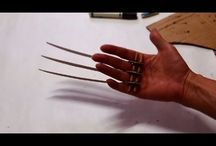 Wolverine LOGAN Claws Template Adamantiun