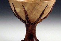 Viður og ceramic