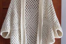 ropa crochet y agujas