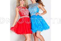 Short and Fun! / short and voluminous dresses..