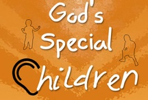 GOD'S SPECIAL CHILDREN / They are god's special children and they need our help. They can't hear or speak and they live in their own small world. come join us and make a difference. Give them a small joy in your own way.