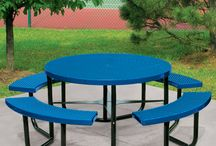 Commercial Round Picnic Tables