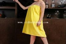 Cotton Velvet Hotel Bath Skirt at sales@sidbathrobe.com