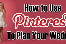 How to Use Pinterest to Plan Your Wedding / Yes folks, Pinterest is one of the best tools that you can use to plan your wedding and get ideas from. If you want to know how to use Pinterest to plan your wedding, there are a few things you'll need to learn first.  http://www.kimberleyandkev.com/use-pinterest-plan-wedding/