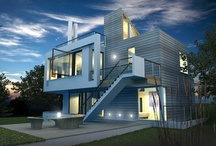 houses I like / modern, clean, contemporary......