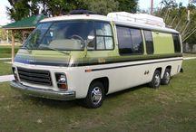 GMC Motorhome Camping