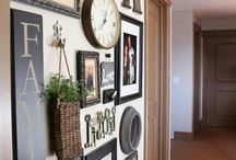 photo frame wall art ideas