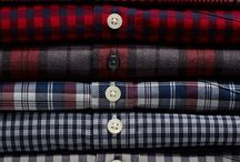 Mens check&stripe