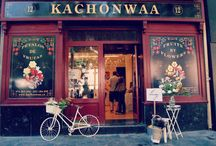 Eventos ~ Events / Fiesta de frutas, chocolate, photocall y canotiers. No te pierdas el evento que organizamos en la jornada de #felipeandozaragoza para Kachonwa, pétalos de fruta.